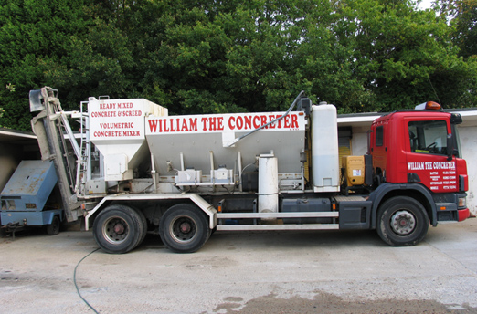 William the Concreter | Ready mixed Concrete